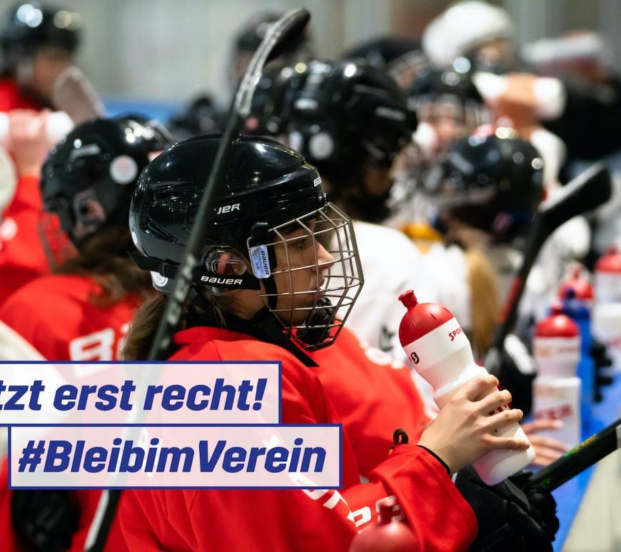 Symbolbild für die Online-Kampagne #BleibimVerein #ResteDansLeClub #RimaniNellaSocieta #StaiEllUniun - zweite Welle Dezember 2020 / Foto: Swiss Olympic