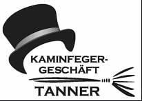 Logo: Kaminfeger Tanner, Sponsor des UHC Kreuzlingen