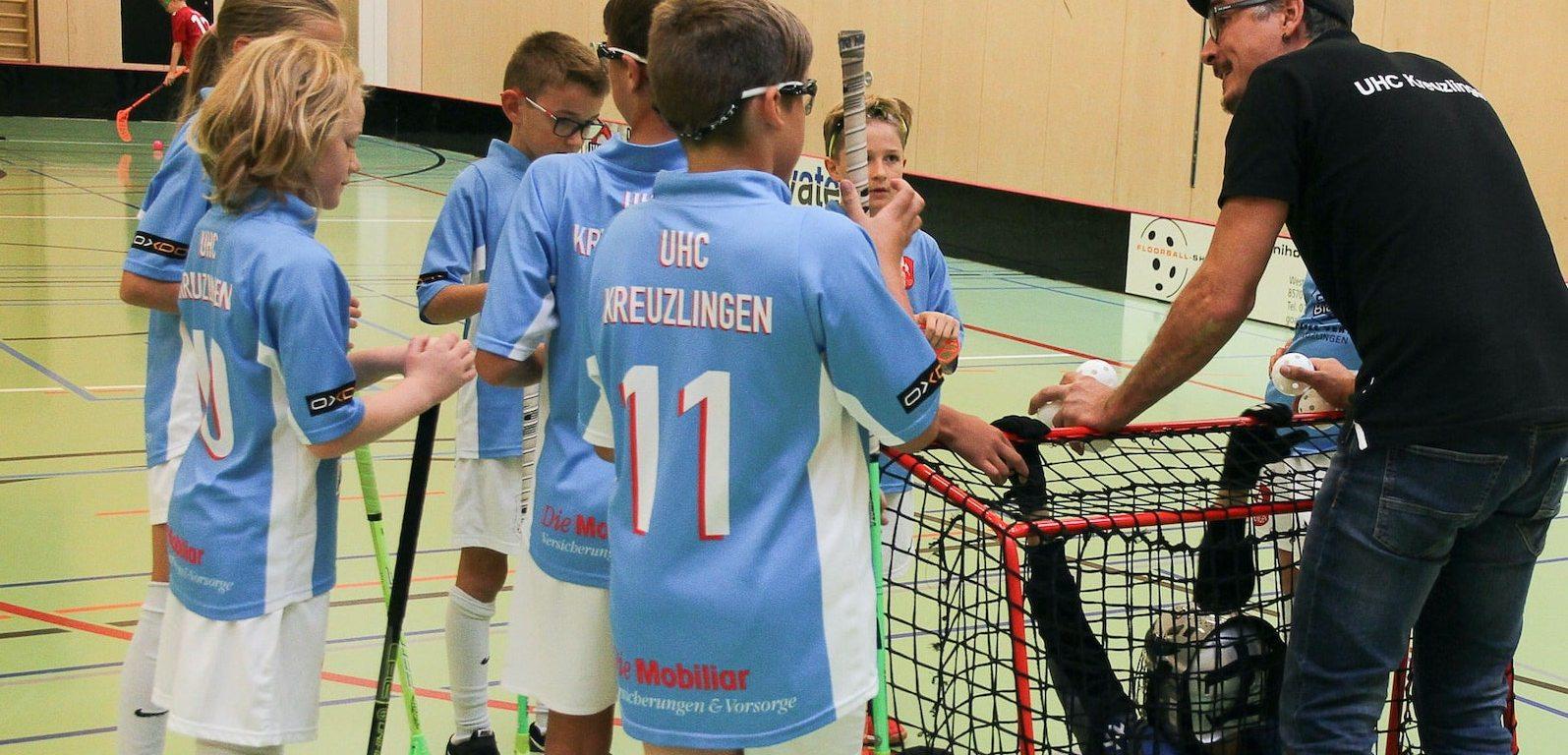Das Training des UHC Kreuzlingen für alle Jugendmannschaften wird am 1. März 2021 nach dem Entscheid des Bundesrats wieder aufgenommen. Foto: Bettina Schnerr